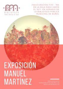 Exposición Manuel Martínez. BibliotecArte. @ Biblioteca Pública Municipal de Buñol. Sala Raga.