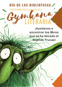 Gymkana Literaria. Día de la Biblioteca. @ Biblioteca Pública Municipal de Buñol