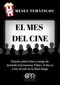 Meses temáticos: el mes del Cine @ Biblioteca Pública Municipal de Buñol