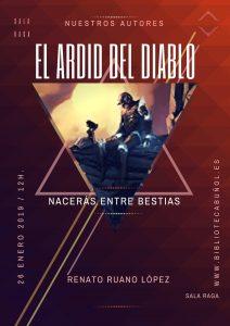 Nuestros Autores: El ardid del diablo @ Biblioteca Pública Municipal de Buñol