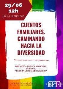 Actividad Infantil: Cuentos Familiares. Caminando hacia la diversidad @ Biblioteca Pública Municipal Cronista Fernando Galarza