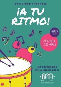 Actividad Infantil: A tu Ritmo @ Biblioteca Pública Municipal de Buñol
