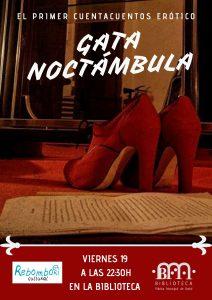 Gata Noctámbula @ Biblioteca Pública Municipal de Buñol