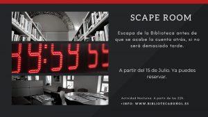 Biblioteca Nocturna: ScapeRoom @ Biblioteca Pública Municipal de Buñol