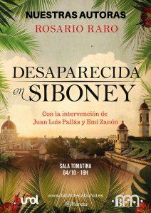 Nuestros Autores: Rosario Raro @ Biblioteca Pública Municipal de Buñol