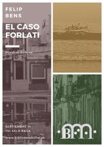 Nuestros Autores: Felip Bens @ Biblioteca Pública Municipal de Buñol