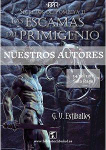 """Nuestros Autores: Guillermo V.Estiballes @ Biblioteca Pública Municipal de Buñol """"Cronista Fernando Galarza"""""""""""