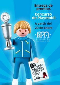 """Entrega de premios del Concurso Playmobil @ Biblioteca Pública Municipal de Buñol """"Cronista Fernando Galarza"""""""